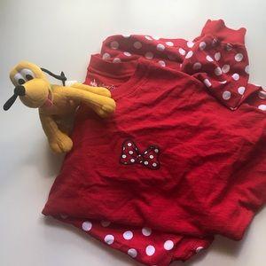 Minnie Mouse Disney Land Spirit Jersey sz LARGE